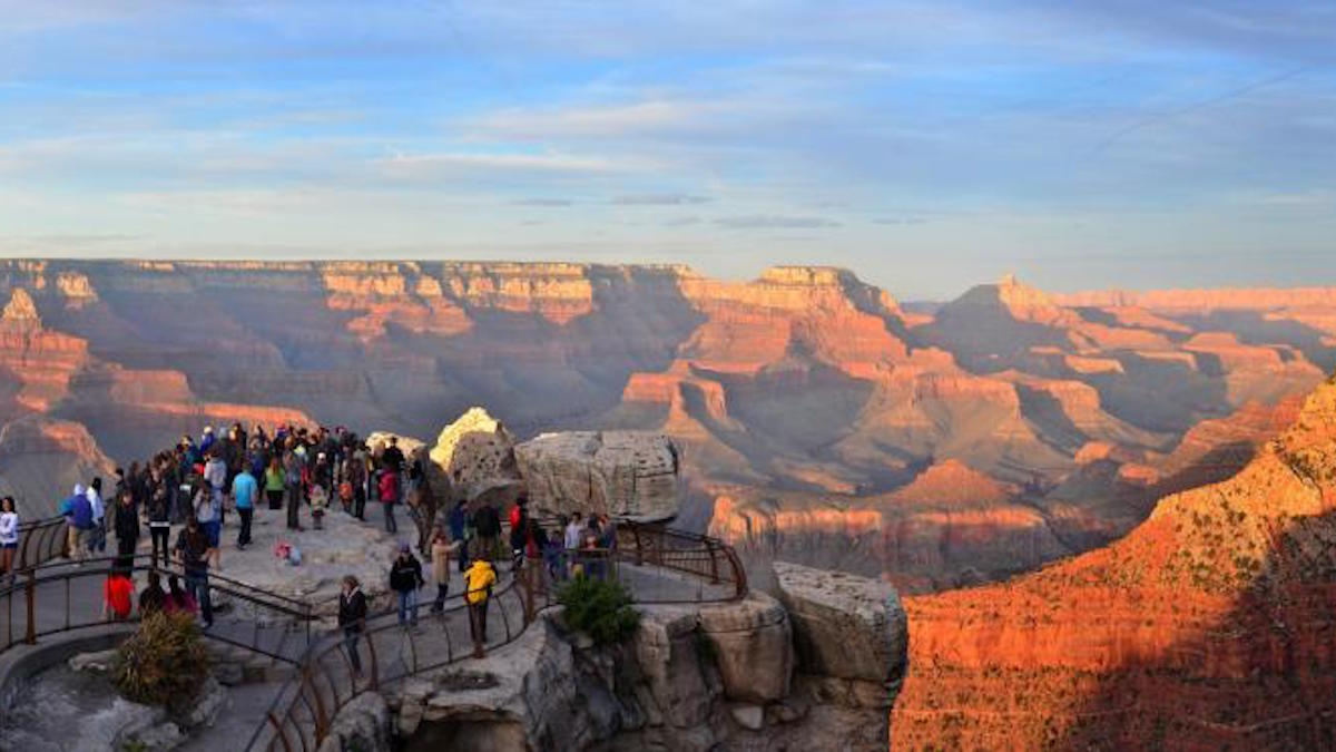 Grand Canyon sunset. Photo: M. Quinn/NPS