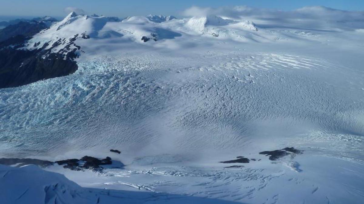 Harding Icefield in Kenai Fjords. Photo: NPS