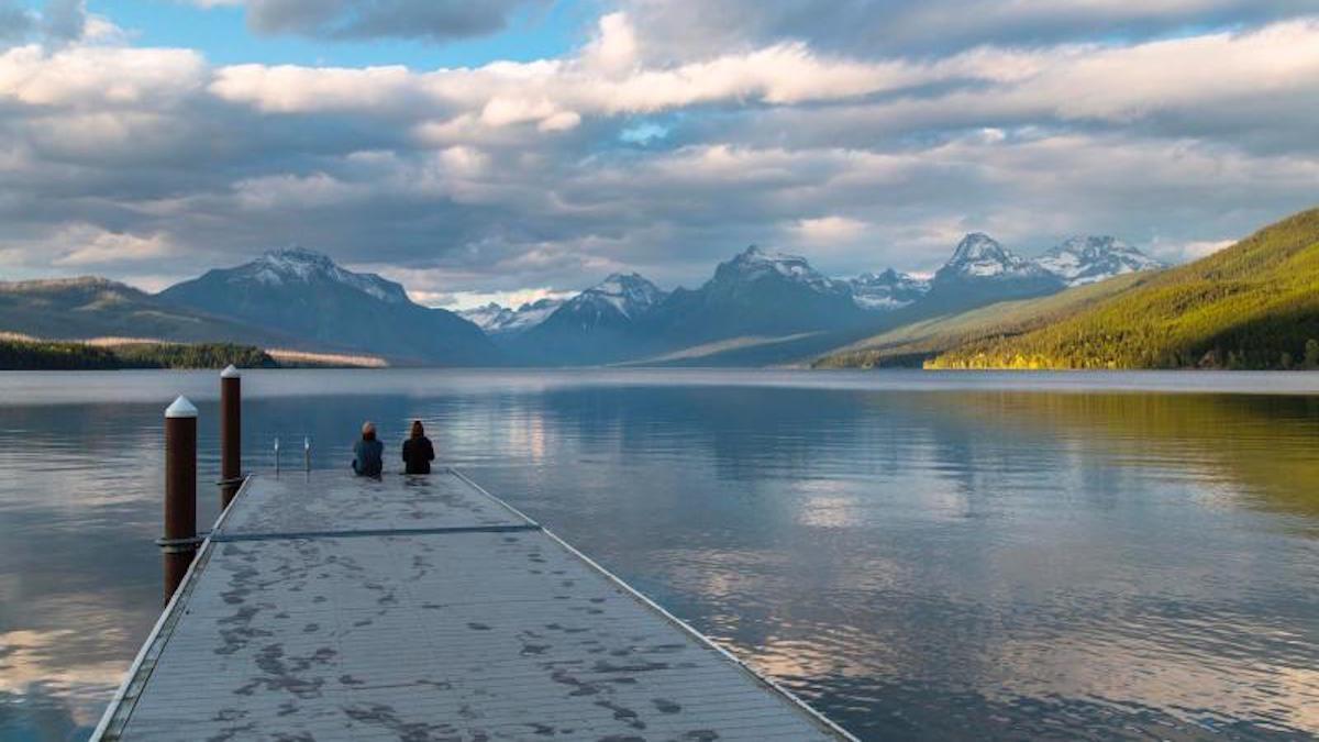 Lake McDonald public dock in Glacier National Park. Photo: Jacob W. Frank/NPS