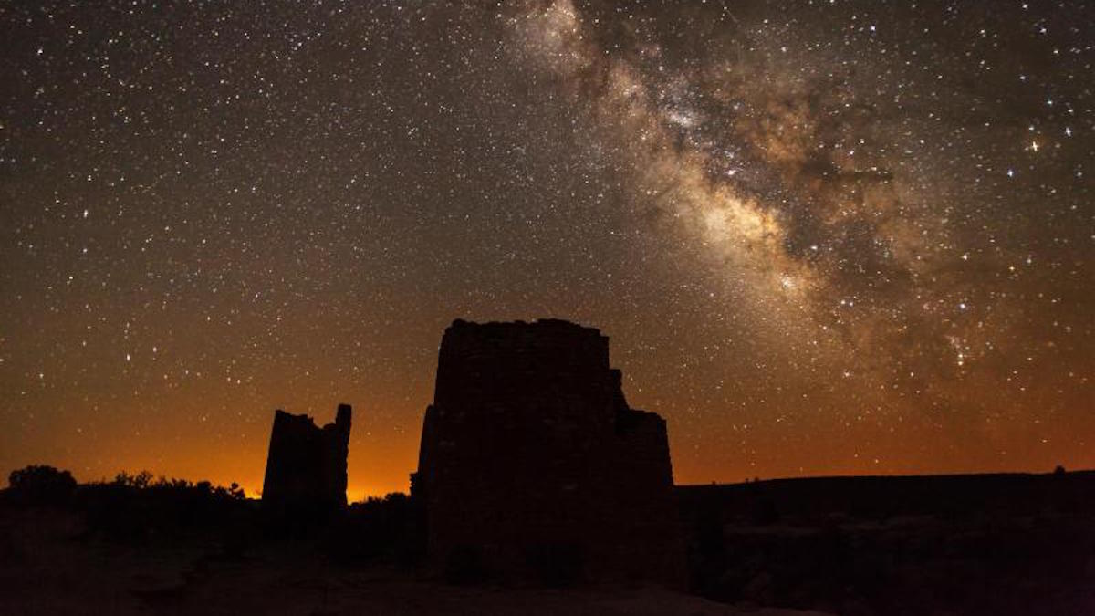 Milky Way Hovenweep National Monument. Photo: NPS