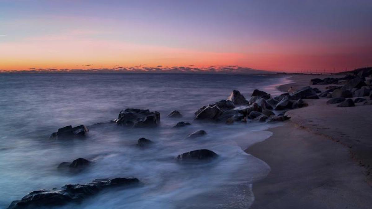 Sandy Hook at sunset. Photo: Stan Kosinski