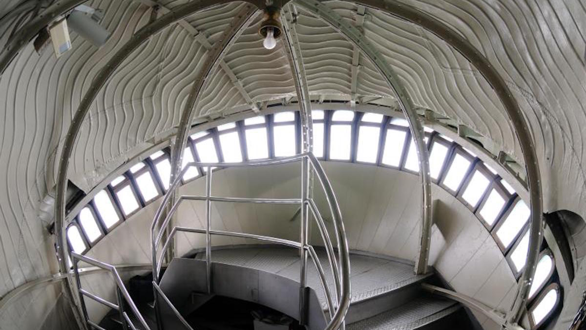 Inside the Statue of Liberty. Photo: NPS