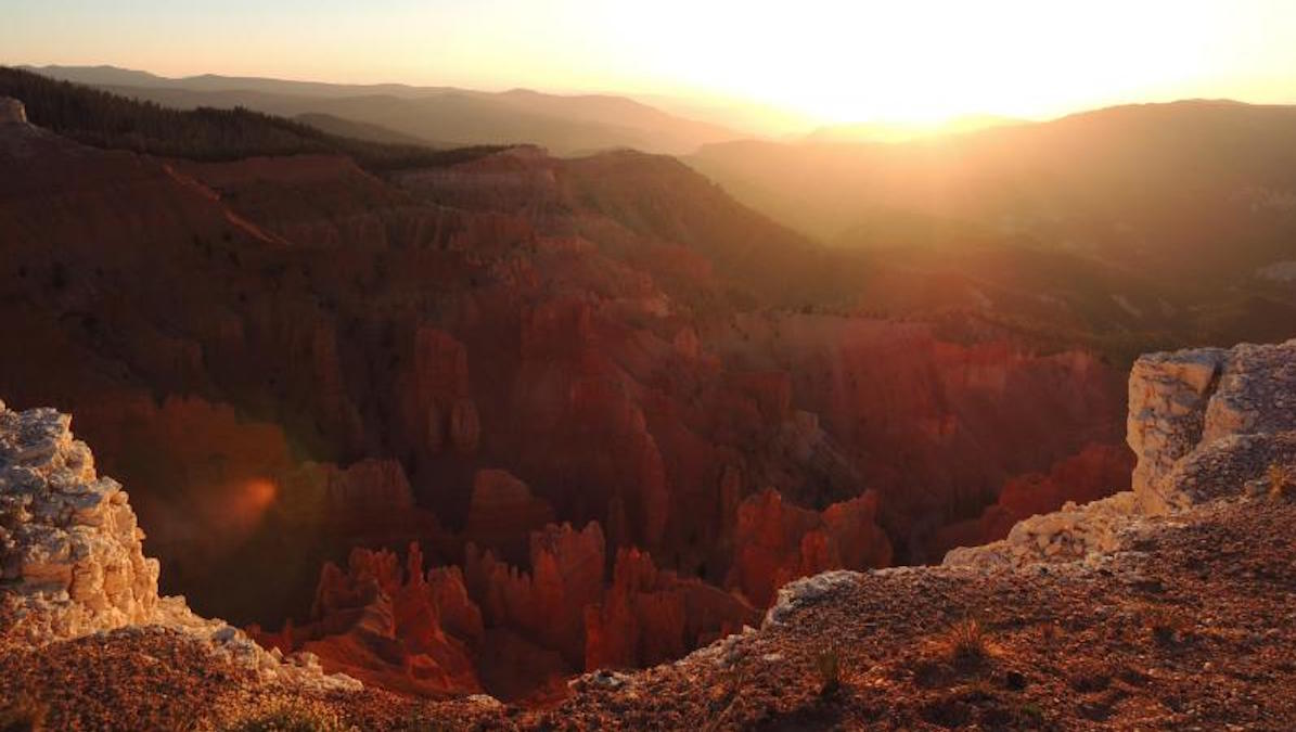 Sunset at Cedar Breaks. Photo: NPS