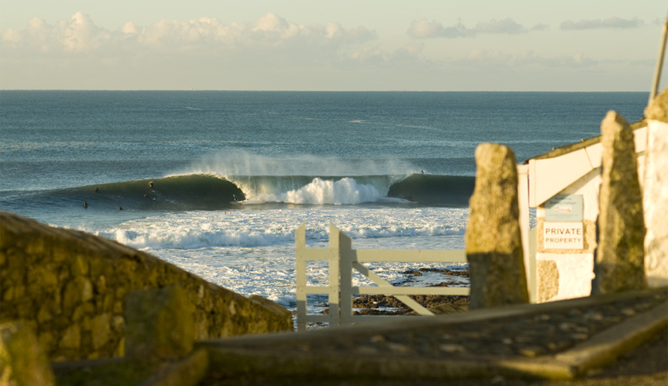 """South West England is fickle, but it has it\'s moments, Porthleven, the jewel in the English surfing crown. Image: <a href=\""""http://www.timnunn.co.uk\"""" target=\""""_blank\"""">Nunn</a>"""