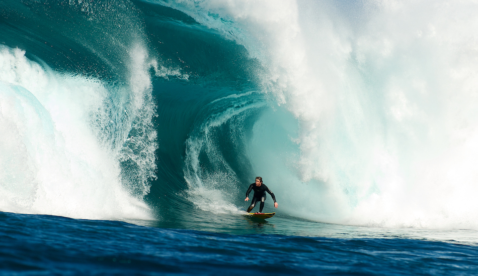 """Cale Grigson is what they like to call an underground surfer, mainly because the focus from mags and sponsors fall elsewhere. Regardless, this guy surfs incredibly well, and can take a heavy wipeout too. Photo: <a href=\""""http://www.russellord.com\"""" target=\""""_blank\"""">Russell Ord</a>"""