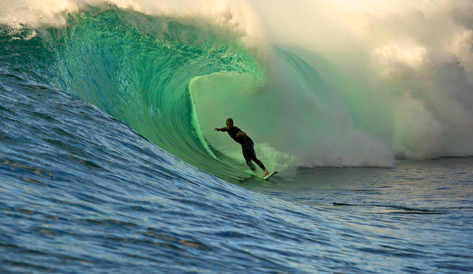 """A nice sneaky session from when the Tour circus was in town for the 6-Star Prime, everywhere was packed with photogs/surfers but luckily we had local knowledge on our side. Love the light. Photo: <a href=\""""http://www.russellord.com\"""" target=\""""_blank\"""">Russell Ord</a>"""