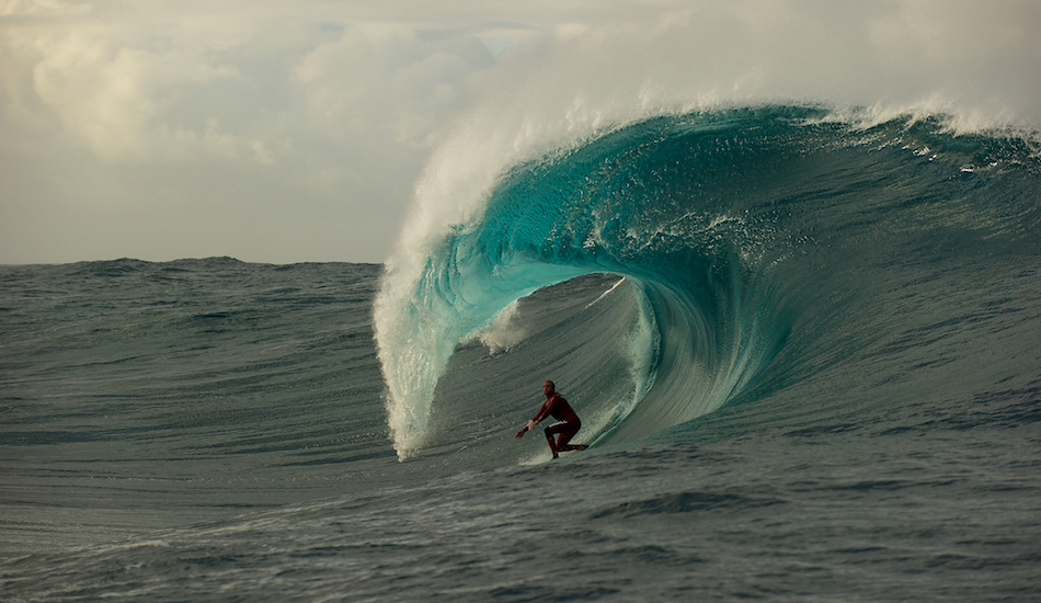 """Mark has made more trips out West than most, and we were lucky enough to share a solo session at a secluded slab. Location – well you\'re not going to hear it from me. Photo: <a href=\""""http://www.russellord.com\"""" target=\""""_blank\"""">Russell Ord</a>"""