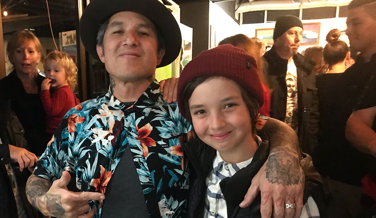 Dorian Paskowitz and Christian Hosoi. Image: Supplied