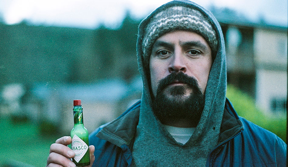 """This is a 35mm film portrait of photographer, videographer, and all around awesome dude, Dean Azim. Dean is an incredibly talented shooter from Vancouver Island, British Columbia. Look him up. Killer stuff. Oh, and he loves hot sauce. Photo: <a href=\""""http://markmcinnis.com/\"""">Mark McInnis</a>"""