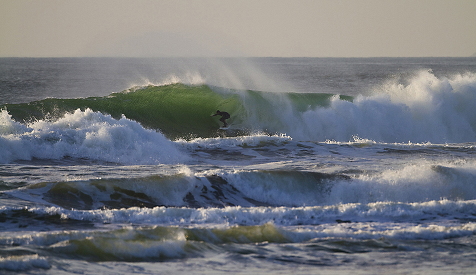 "Back lit barrel at Ocean Beach. Photo: <a href=\""http://instagram.com/migdailphoto\""> Seth Migdail</a>"