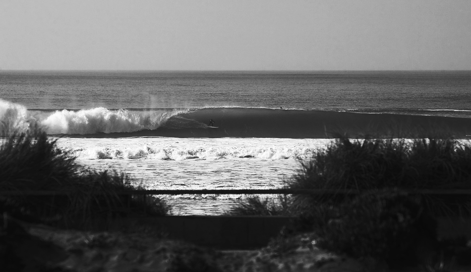 "Ocean Beach is world class. This mid-beach freight train is proof. Photo: <a href=\""http://instagram.com/migdailphoto\""> Seth Migdail</a>"