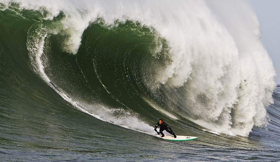 "Derek Dunfee is one of the SoCal standouts to make his way up to Mavericks. His dedication to big wave surfing and Mavericks earned him the 2008 XXL Monster Paddle Award. Photo: <a href=""http://instagram.com/migdailphoto\""> Seth Migdail</a>"