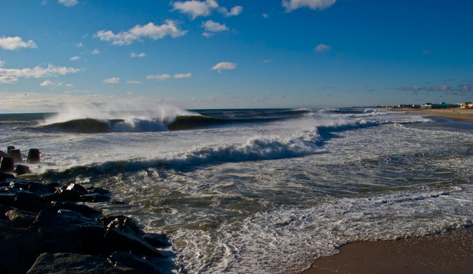"New Jersey Winter barrel. I love shooting this wave, especially early in the morning when no one\'s out yet, because it doesn\'t stay a secret for too long when it\'s good here. Photo: <a href=""http://shcoleman4.wix.com/wwwstevecolemanphotocom\"">Steve Coleman</a>"