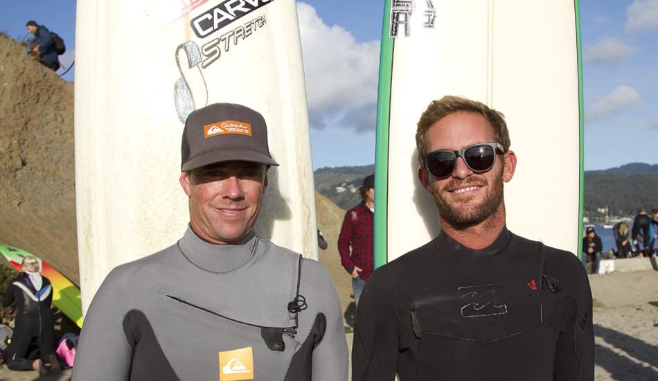 "Zach Wormhoudt and Derek Dunfee.Photo: <a href=\""http://instagram.com/migdailphoto\""> Seth Migdail</a>"