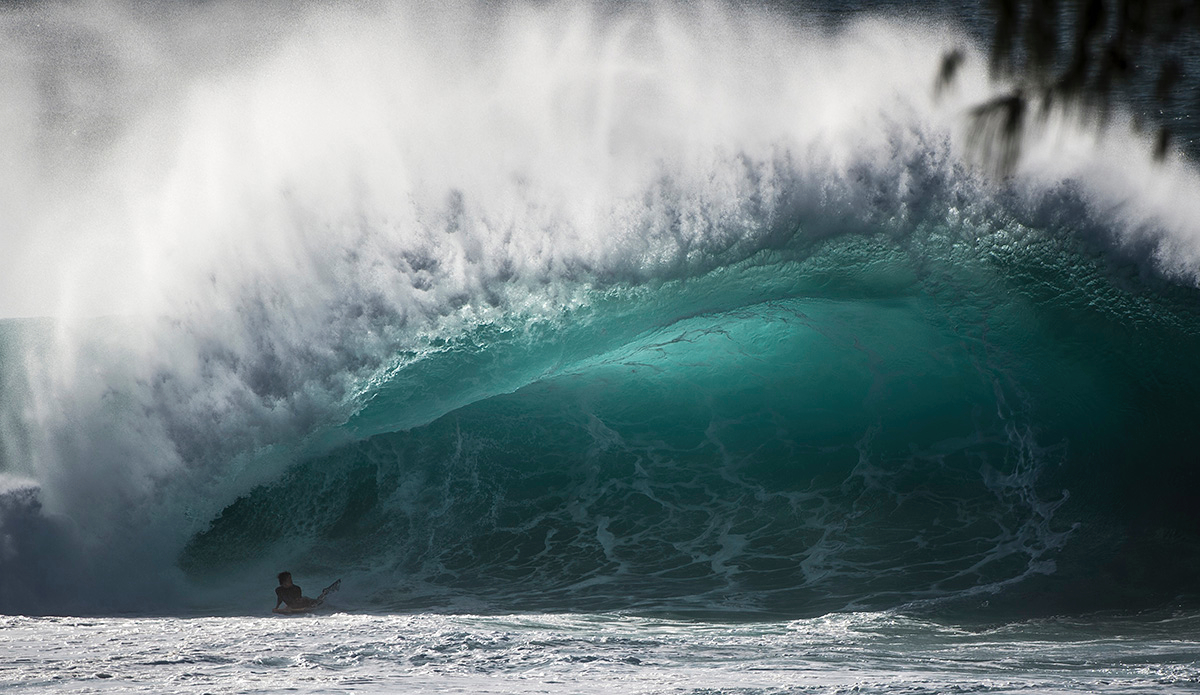 """Seabass at Pipeline. Photo: <a href=\""""https://www.raycollinsphoto.com\"""">RayCollinsPhoto.com</a>"""