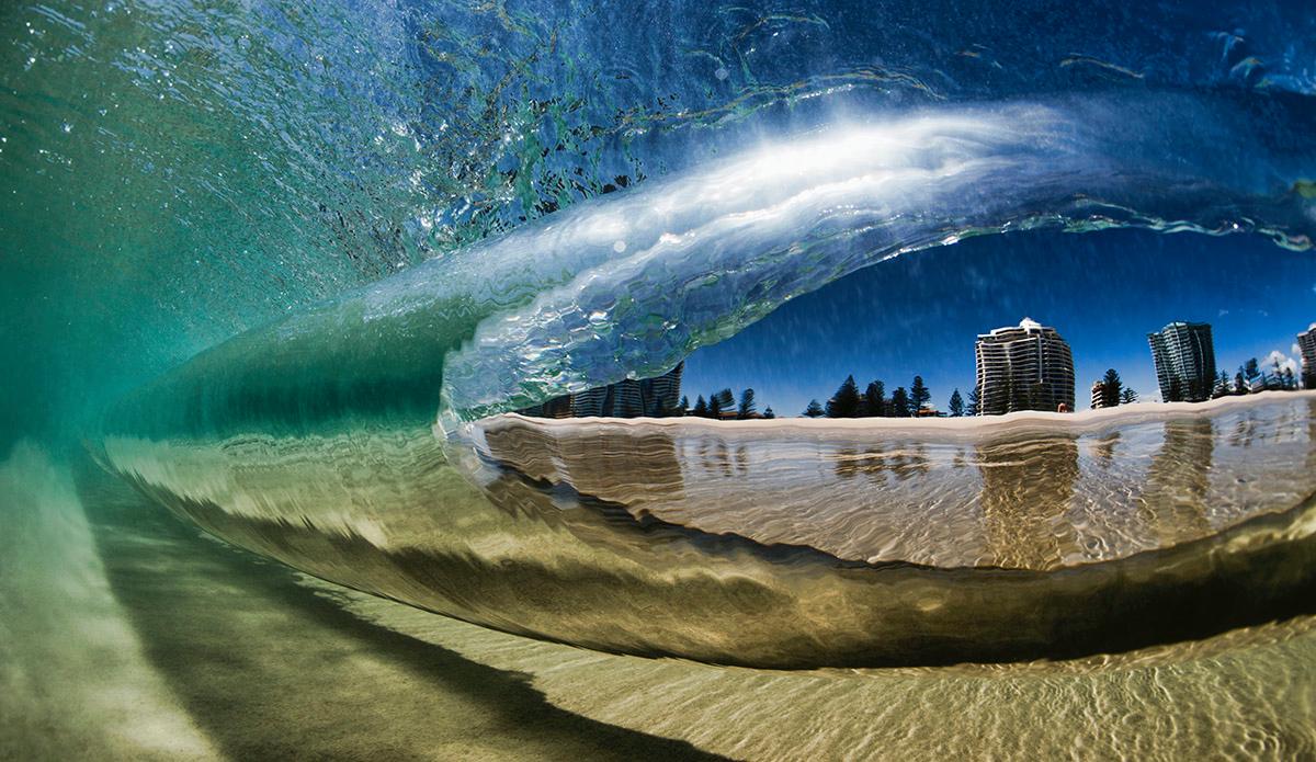 """Underwater Kirra. Photo: <a href=\""""https://www.raycollinsphoto.com\"""">RayCollinsPhoto.com</a>"""
