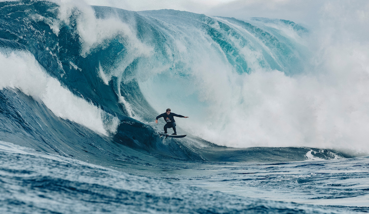 Mick Fanning navigates the Shippies step. Photo: Andrew Chisholm/Red Bull Content Pool