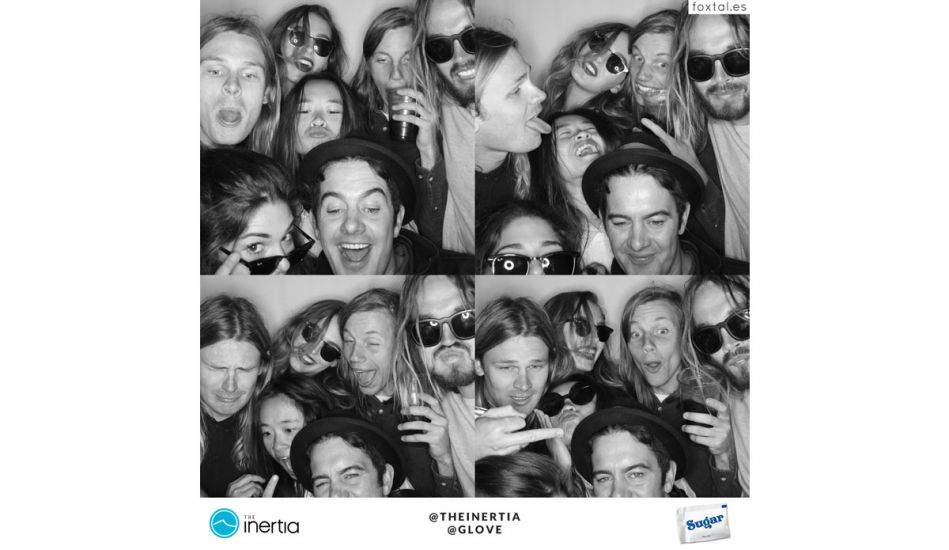 G. Love and his biggest fans. The photo booth escalates. Photo: Foxtales