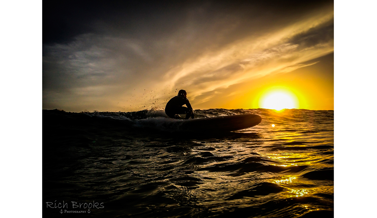 "Surfing and nature are each beautiful in their own right. But to capture that moment when the two perfectly intersect is transcendent. (Surfer: Bob Lavender) Photo: <a href=""https://richbrooksphotography.squarespace.com/\"">Rich Brooks</a>"