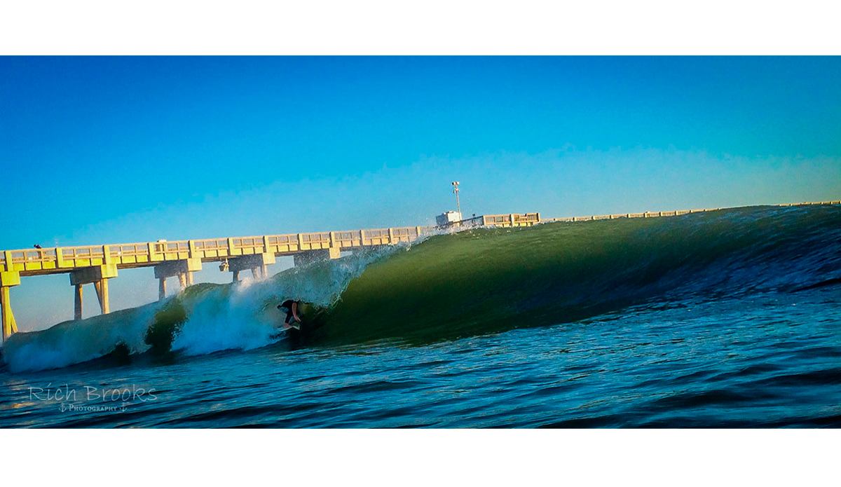 """Craig Brown deep in the barrel! Photo: <a href=\""""https://richbrooksphotography.squarespace.com/\"""">Rich Brooks</a>"""