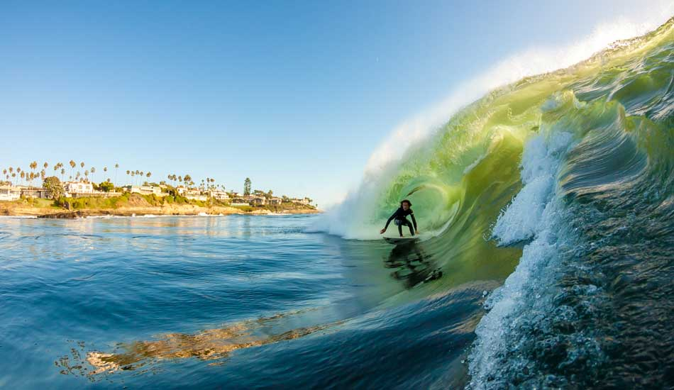 "I\'m always stoked to find Rob taking on one of my home breaks in La Jolla. Photo: <a href=""http://anthonyghigliaprints.com/\"" target=_blank>Anthony Ghiglia</a>"