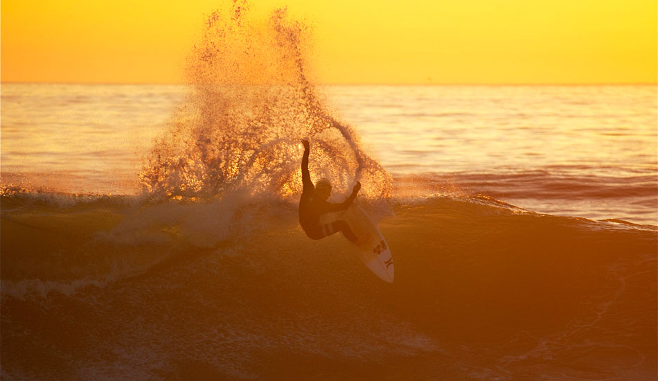Nat Young. Man surfing. Photo: Robb Wilson