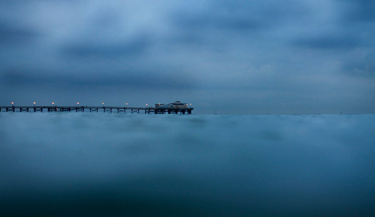 Moody evenings at Seal Beach, California. Photo: Robb Wilson
