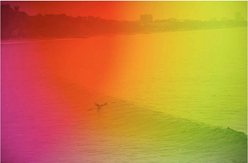 Horizon swell by Warren Niedich, 2012. Pigment print.