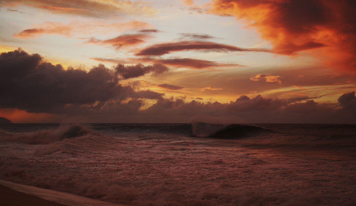Gas Chambers sunset. Photo: Romuald Pliquet