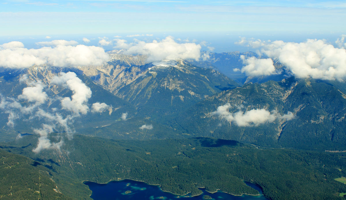 "The view from the top of highest mountain in Germany. Photo: <a href=""http://www.ryanwattersphoto.com/\"">Ryan Watters</a>"
