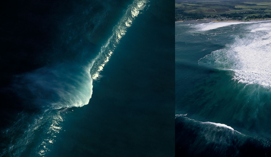 """From several years back, this is two different views of Outside Avalanche at 20-30 feet. Photo: <a href=\""""http://seandavey.com/wordpress/\"""" target=_blank>Sean Davey</a>"""