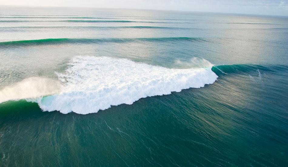 "\""Pipeline.\"" That\'s Pipe regular Greg Quinn on the wave. Photo: <a href=\""http://seandavey.com/wordpress/\"" target=_blank>Sean Davey</a>"