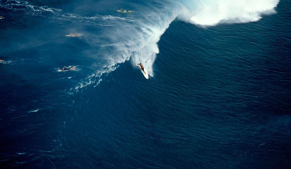 """Sunny Garcia tubed at Backdoor during his world champion year of 2000. Photo: <a href=\""""http://seandavey.com/\"""" target=_blank>Sean Davey</a>"""
