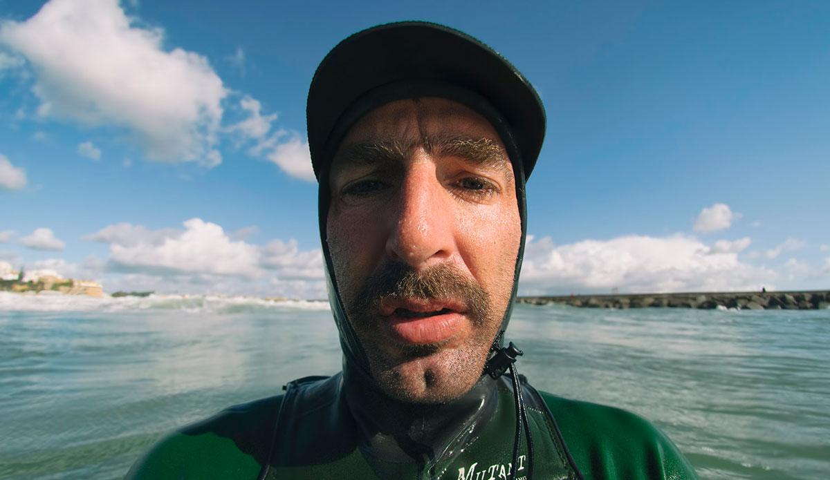 "This is my first shutter check at my home break. <a href=\""http://joaobracourt.com/\"">João Bracourt</a>"