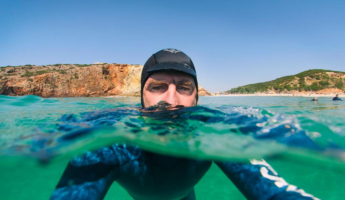 "The water in South Portugal get super clear. <a href=\""http://joaobracourt.com/\"">João Bracourt</a>"