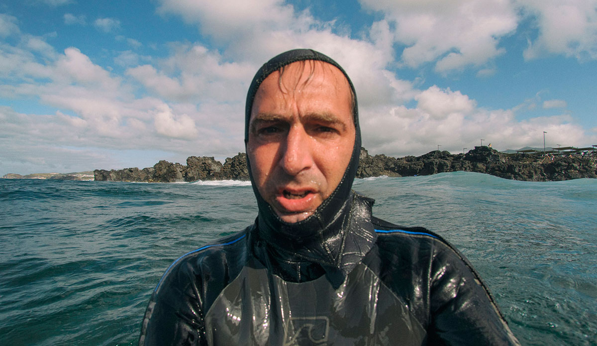 """At the Azores Pro, I took the poster shot. They paid me, but I still look clueless. <a href=\""""http://joaobracourt.com/\"""">João Bracourt</a>"""