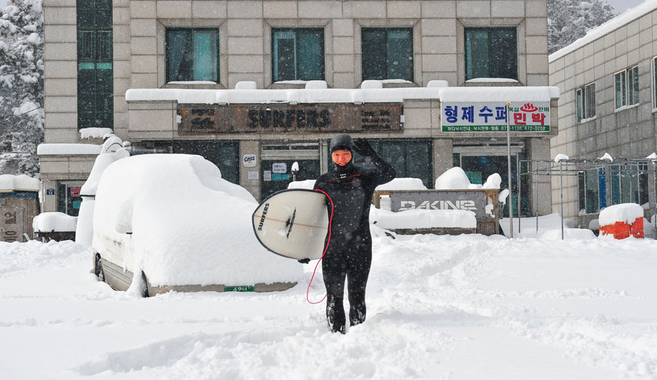 """South Korea has caught the surf bug badly. 38th Parallel Beach has fast become a hub for Seoul's young jet-setting surfer class.  Photo: <a href=\""""http://www.shannonaston.com/\"""" target=_blank>Shannon Aston</a>."""
