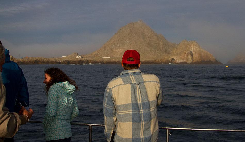 "Morning off the east island buoy. Photo: <a href=\""http://instagram.com/migdailphoto\""> Seth Migdail</a>"