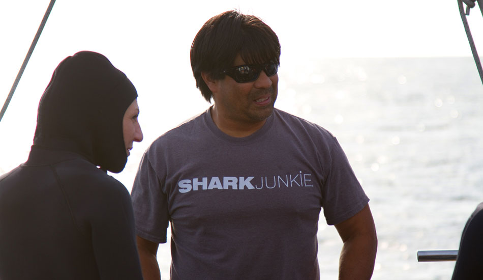 "James Moskito, a shorter, stockier, more Asian version of Denzel Washington. Shark Junkie. Photo: <a href=\""http://instagram.com/migdailphoto\""> Seth Migdail</a>"