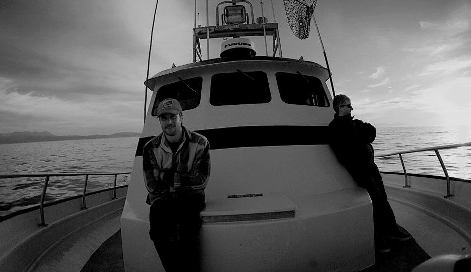 "The forward deck of the Superfish. Photo: <a href=\""http://instagram.com/migdailphoto\""> Seth Migdail</a>"