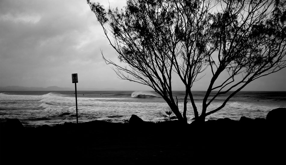 """POINT OF VIEW KIRRA, AUSTRALIA. Kirra hasn\'t worked much over the last few years, but when it does, it is amazing.  Photo: <a href=\""""http://www.bluespherephotography.com\"""">Shelli Bankier</a>"""