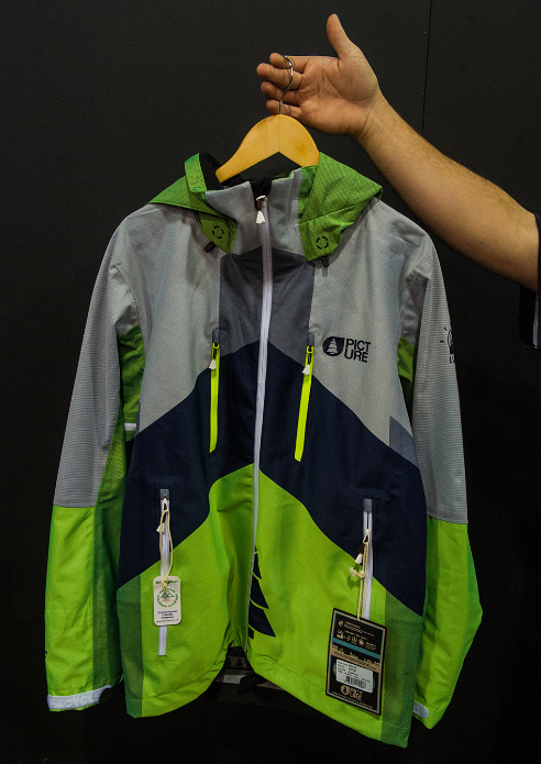 Built on environmentally conscious supply lines and with French flair, the Picture Organic Clothing Eno jacket combines a breathable, waterproof recycled polyester fabric with cutting-edge tapeless seam construction.