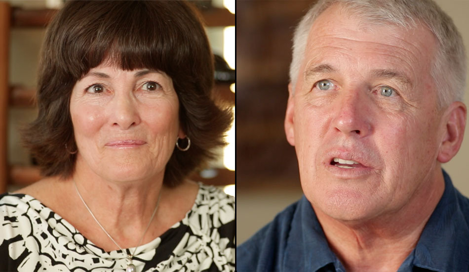 The two great people responsible for the Long family (their sister Heather is a flight attendant and nurse!). It\'s no secret that great kids come from great parents, and Jan and Steve are certainly exemplars of that rule. Despite the care and concern they have for their children as they watch them venture out to explore the Earth\'s biggest waves, they support them whole-heartedly. It was an absolute joy to meet such great parents and get insight into what it\'s like to raise a big-wave surfing family.