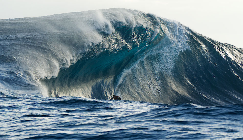 """Cyclops: This wave may not be the mythical one-eyed giant of Greek mythology, but it\'s still giant and just as terrifying. Photo:Photo: <a href=\""""http://www.russellord.com\"""" target=\""""_blank\"""">Russell Ord</a>"""