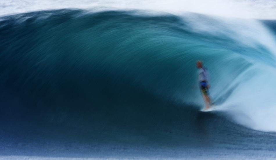 "Here\'s Jamie O\'brien slowing things down at Backdoor. Image: <a href=\""http://www.vincestreet.com\"" target=\""_blank\"">Street</a>"