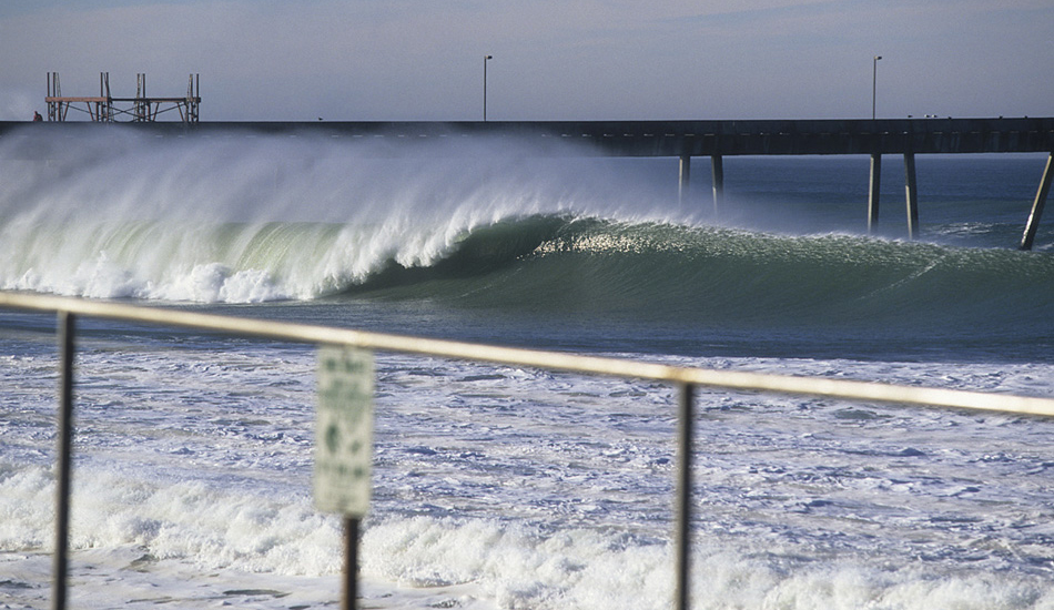 """This wave is about 5 minutes away from my parents house in Northern California. Not one soul surfed this wave that day! Image: <a href=\""""http://www.vincestreet.com\"""" target=\""""_blank\"""">Street</a>"""