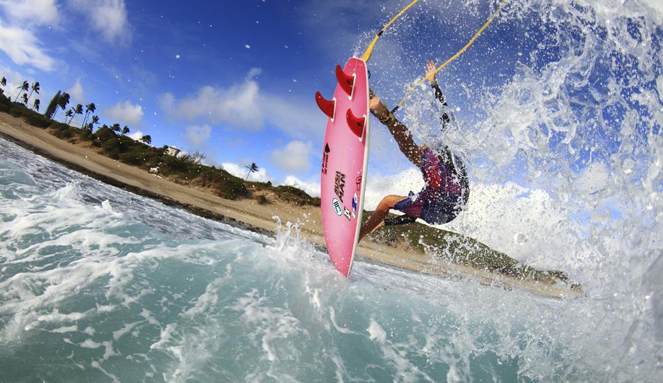 "Flynn Novak taking advantage of some waves during the summer on Oahu. Image: <a href=\""http://www.vincestreet.com\"" target=\""_blank\"">Street</a>"