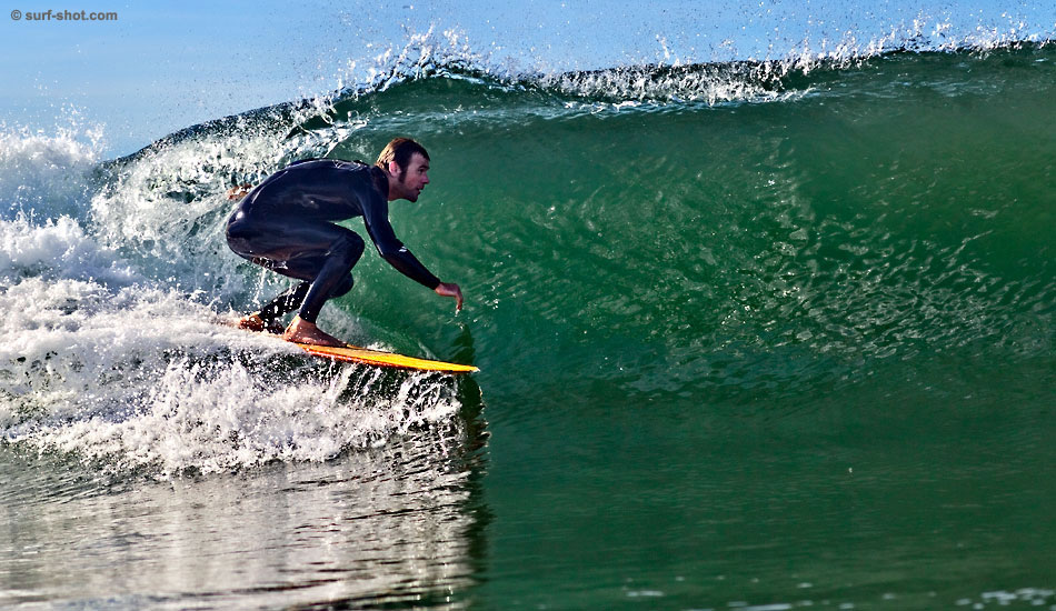 """Andy Powers, tucking into one. Photo:<a href=\""""http://www.surf-shot.com\"""" target=_blank>Surf-Shot.com</a>"""