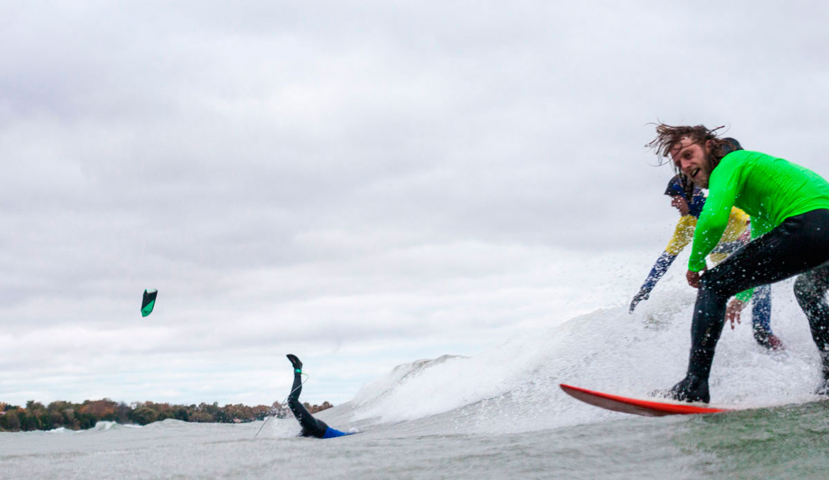 "Aurelién Bouché-Pillon (France) and Daryl Dennis Dorion (Ucluelet, BC). Photo: <a href=\""http://instagram.com/lucasmurnaghan\"">Lucas Murnaghan</a> | <a href=\""http://www.surfthegreats.org/\"">Surf the Greats</a>"