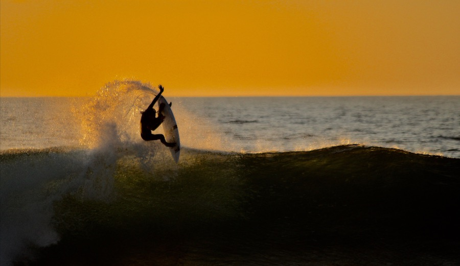 Craig Anderson (pictured), Dane Reynolds and Brendon Gibbens spent a few weeks feasting around Portugal this winter. They were not disappointed. Pedra Branca, Portugal. 2/17/17. Photographer: LineUp Photography